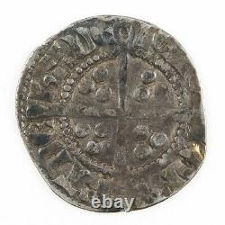 Rare Edward I'longshanks' Silver Long Cross Penny, Robert De Hadelie, Bury St E