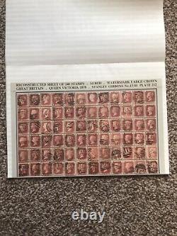 Sg 43 Penny Plaque Rouge 212, Reconstruction Complète De 240 Timbres Aa À Tl