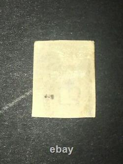 Timbres Du Royaume-uni 1d Penny Noir Utilisé