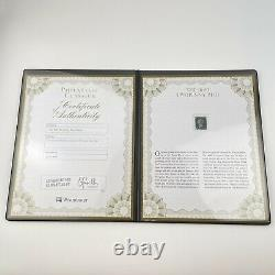 Westminster Philatelic Classics 1840 Twopenny Two Penny Blue Stamp Coa