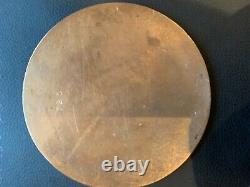 Ww1 Plaque Commémorative Britannique Mort Plaque Mort Penny Frew