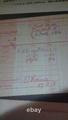 Ww1 Plaque De Mort Penny Pte Leslie Beevers Walker 2284 En Bon État